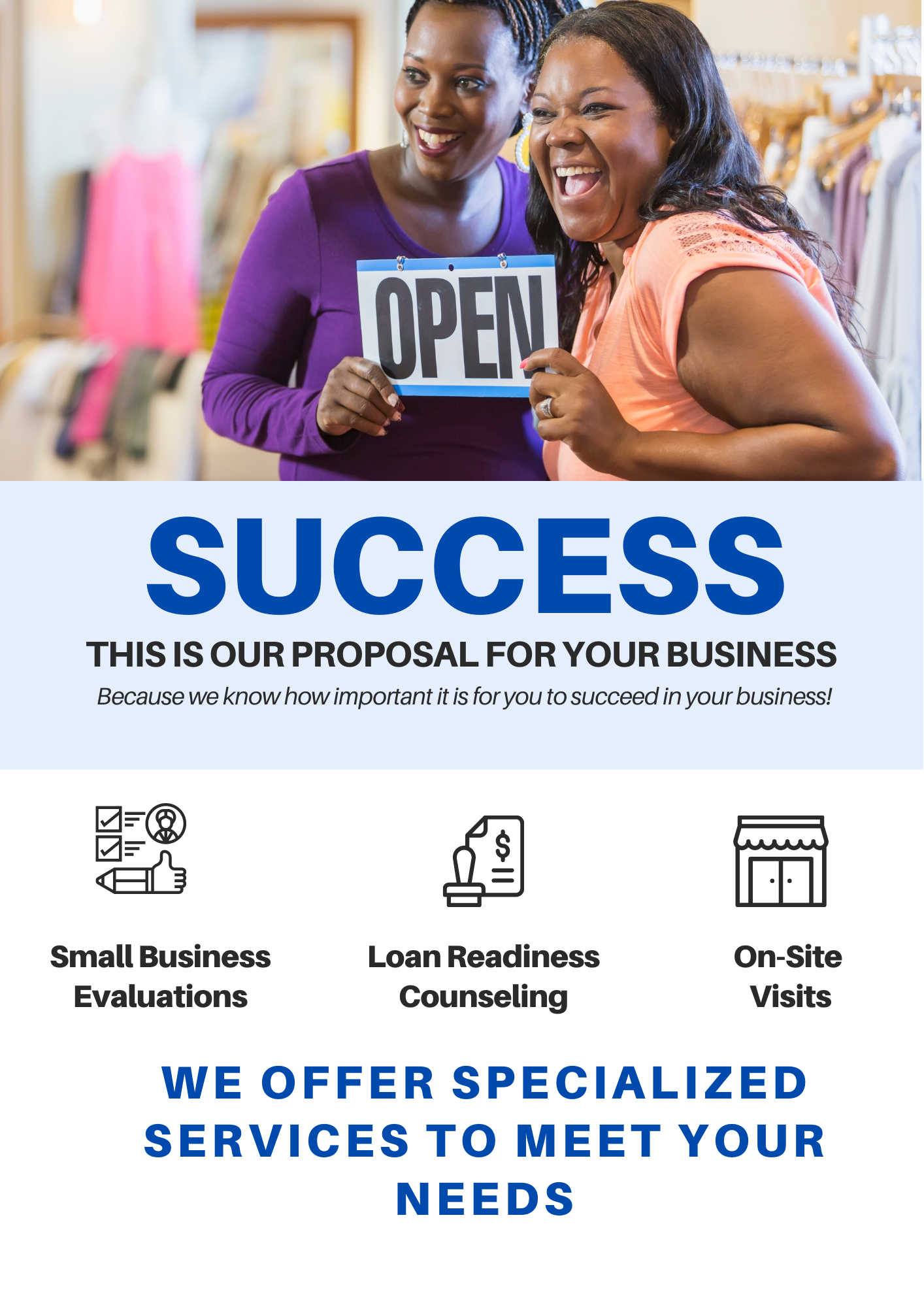 Free Individual Counseling for Small Business