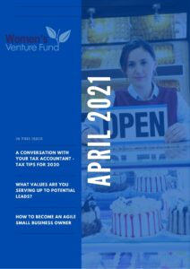 Newsletter Women's Venture Fund April 2021